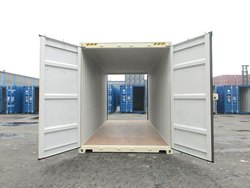 Double Door Container