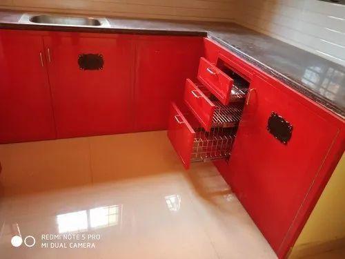 Modular Kitchen Pvc Classic Modular Kitchen Wholesale Trader From Chennai