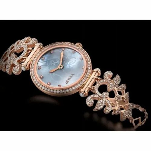 Casual Wear Round Ladies Nebula Watch