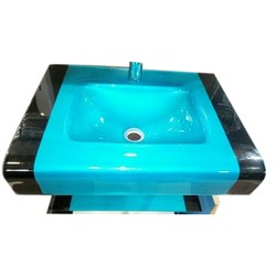 Super Mirror 12mm Glass Wash Basin, Packing Type: Box