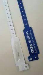 UHF RFID Vnyil Plastic Wristbands