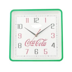 Plastic Square Printed Wall Clock, for Home, Office