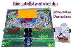 Voice Controlled Smart Wheel Chair Project Model