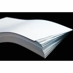 White Uncoated Writing and Printing Paper, GSM: 40 GSM 300, Thickness: 40 To 300 Gsm