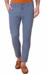 Cotton Regular Fit Mens Trouser Pant, Size: S-xxl