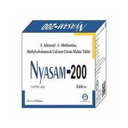 S Adenosyl L Methionine Methylcobalamin Calcium Citrate Malate Tablet
