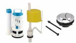 Molex- NO- 37 Dual Flush Syphon Set PVC Cistern Fitting for Home