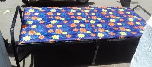Multicolor Plywood Folding Bed with mattress, Size: 3*6 Ft ...