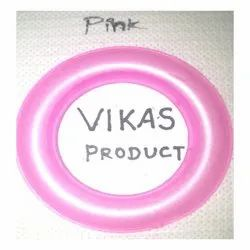 Pink Colored Male Female Curtain Ring