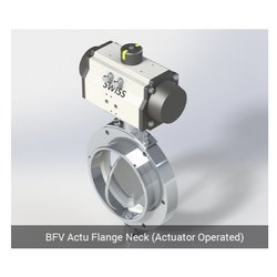 BFV Actu Flange Neck Actuator Operated