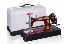Pooja Classic Cover Composite Sewing Machine