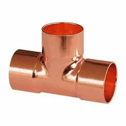 Copper Swaging Tee Fittings