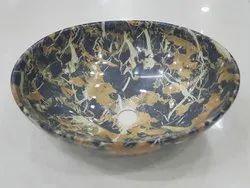 Round Ceramic Basin