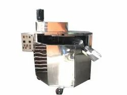 Chapati Making Machine - Semi-Automatic Silver Compact