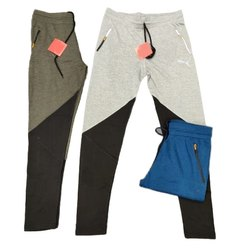 Regular Fit Cotton Lycra Track Pants for Men