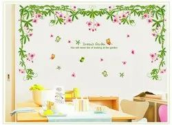 Multicolor Dream Garden Wall Decor Dreams Garden Sticker 60 X 90, Size/dimension: 60x90 , pack Size: 26, 5