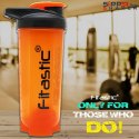 Premium Shaker Bottle Orange