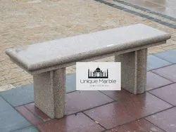 Pink Granite Bench