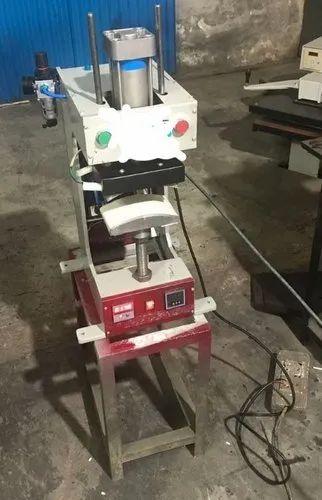 Automatic Cap Heat Press With Compressor
