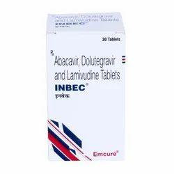 Inbec Tablet - Abacavir 600 Mg Dolutegravir 50 Mg Lamivudine 300 Mg
