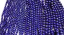 Natural Lapis Lazuli Smooth Polished Round Ball Beads Strand 6,8,10 mm Sizes