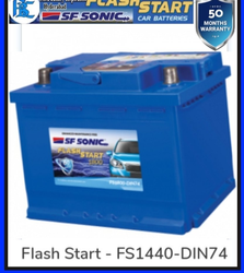 Din74 SF SONIC Matrix Batteries