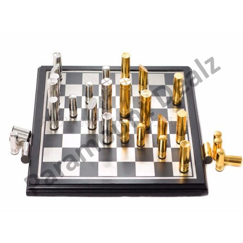 Aluminium Chess Set