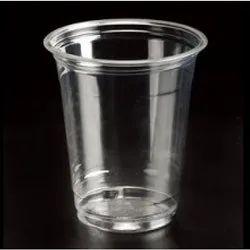 250 ml Plain Disposable Transparent Glasses