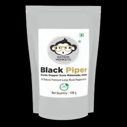 Estate Monkey Black Piper Pepper, Packaging: Packet