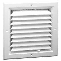 White Aluminium Square Ceiling Air Diffuser, Size: 2*2 Feet