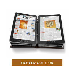 Fixed Layout ePUB Services