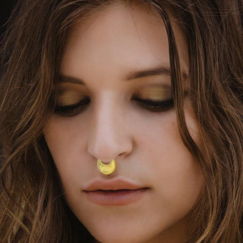 Women Gold Plated Septum Nose Ring At Rs 299 Piece Chandpole