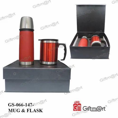 Mug & Flask Gift Set