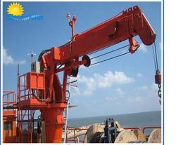 Hydraulic Knuckle / Foldable Boom Ship Crane