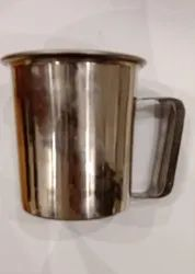 Mugs Stainless Steel Single Double Walled With Double Wall Moulded Handle