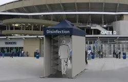 Disinfection Tunnel / Automatic Sanitizer Spray Tunnel