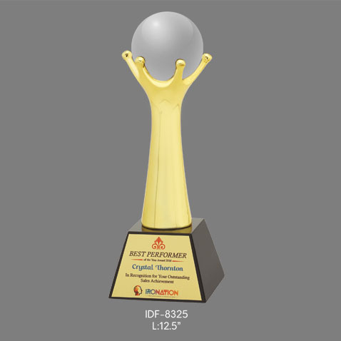 Size (inches): 12.5 Inches 8325 Corporate Trophy