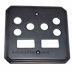 2 Small Decora & 2 Triplex Border Switch Plate