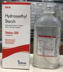 Hydroxyethyle Starch Infusion I.V, Packaging Size: 500 mL