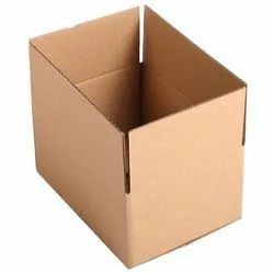 Rectangle Brown 3 Ply Corrugated Box, Box Capacity: 1-5 Kg
