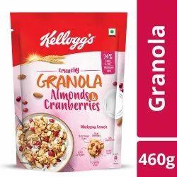 Kellogg's Crunchy Granola Almonds & Cranberries 460 gm - Mrp 299