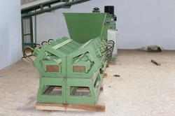 Industrial Coco Peat Block Making Machine