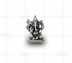 Silver Plated Car Dashboard Ganesh