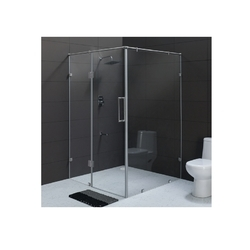Cera Size 1950 mm L-Shaped Partition Cubicle Customised Shower Partition