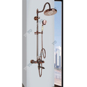 Brass Wall Mixer Shower Set