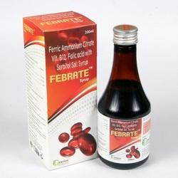 Ferric Ammonium Citrate Folic Acid with Sorbitol Syrup