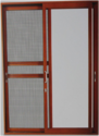 Aluminum 3 track Sliding Window with Mosquito Mesh