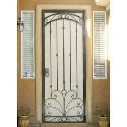 Metal Hinged Designer Safety Door
