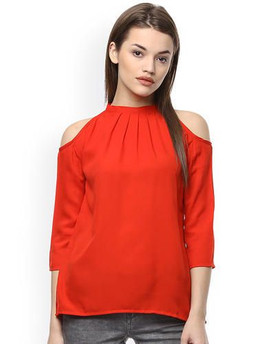 1e6b4a11a4054 S To Xl Benzora Women  s Off Shoulder Red Top