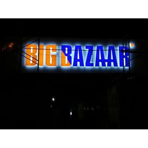 Led Light Acrylic Sheet Sign Board